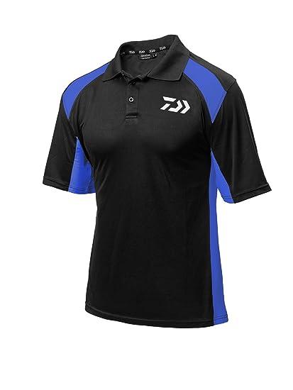 Hemden & T-Shirts Daiwa T Shirt Weiß Schwarz Polo Shirt Größe M Bekleidung