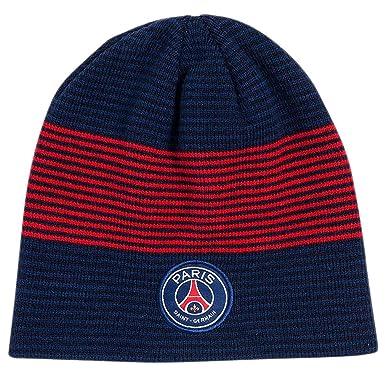 PSG - Official Paris Saint-Germain Winter Hat - Color   Blue at ... b4f3c12a438