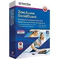 Avanquest ZoneAlarm Social Guard - Seguridad y antivirus (Caja, 5 usuario(s), 1 Año(s), 50 MB, 1024 MB, 1GHz)