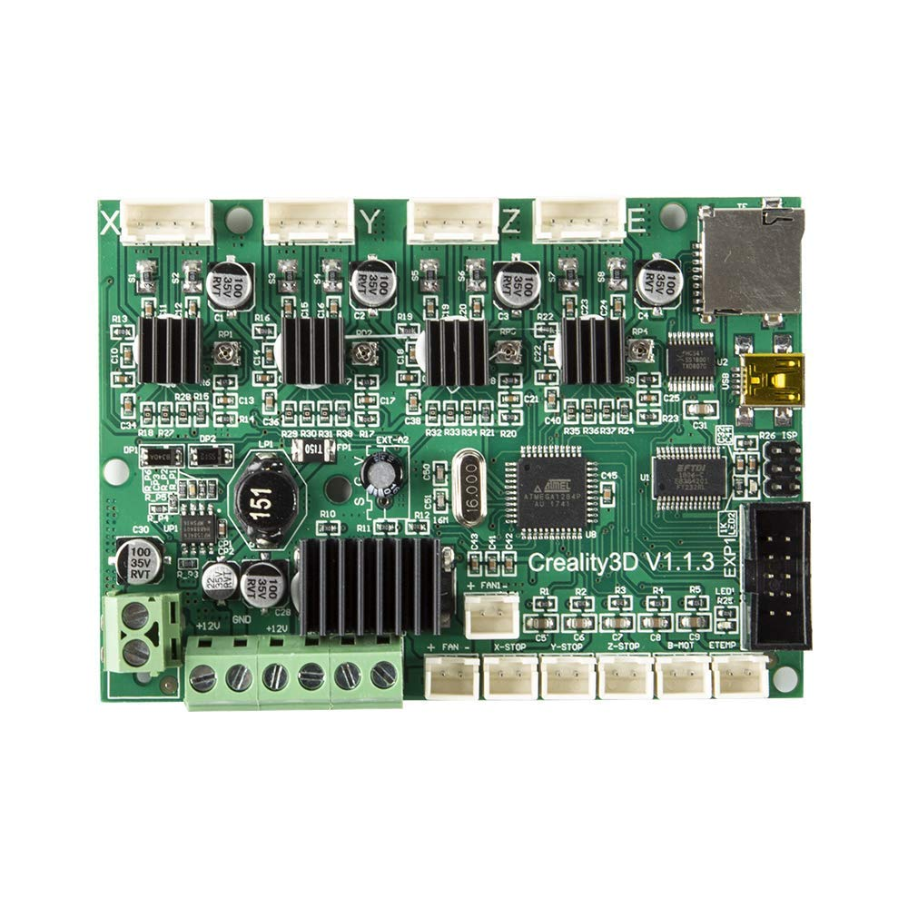 Comgrow Creality Original Ender 3 Mainboard V1.1.3 Mother Control Board for Ender 3, Ender 3X, Ender 3 Pro