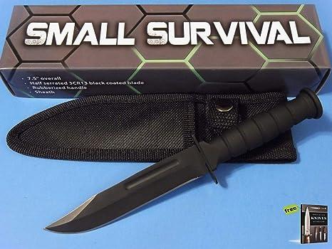 Amazon.com: FIXED-BLADE 211360bk - Cuchillo de supervivencia ...