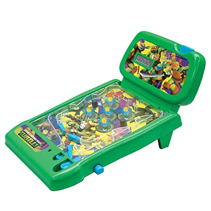 Pleasant Teenage Mutant Ninja Turtles Totally Turtles Tabletop Pinball Interior Design Ideas Gentotryabchikinfo