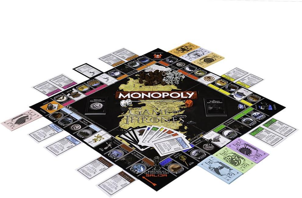 Winning Moves Monopoly Juego De Tronos ista (63447), multicolor, ninguna (ELEVEN FORCE: Amazon.es: Juguetes y juegos