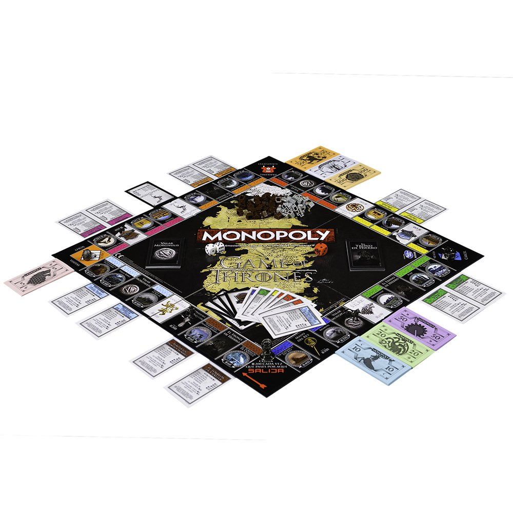 Comprar Juego de Tronos- Monopoly (82905), Eleven Force