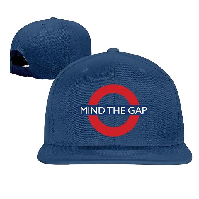 Mind The Gap gorra de béisbol Hip Hop sombrero negro (5 colores)