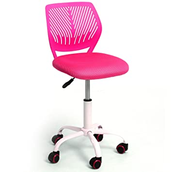 GreenForest Adjustable Kids Study Chair Low Back Small Desk PINK