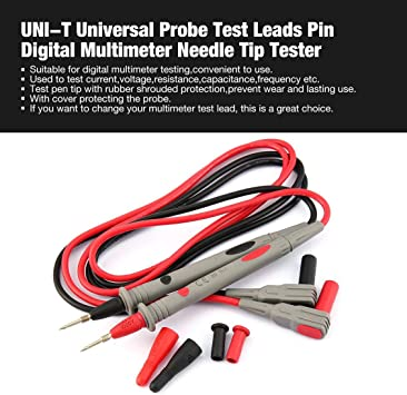 Wires Digital Meter Test Leads Universal Fit Part