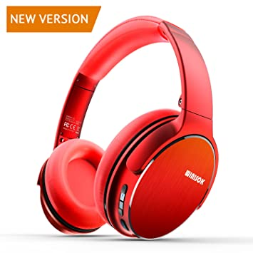 4c52a4146c3 Winisok Auriculares Bluetooth Diadema, Auriculares Inalámbricos Bluetooth  con Micrófono Casco Plegable Headphone Bluetooth Manos Libres y Cable de  Audio ...