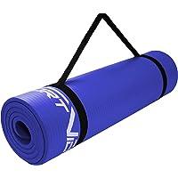 SportVida Yogamat, fitnessmat voor yoga, pilates, gymnastiek, schuimrubber NBR   180 x 60 x 1 cm   isomat voor…