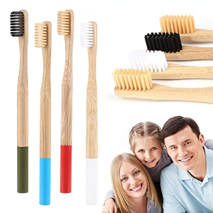 Lomsarsh 13PCS Cepillos de dientes de bambú ecológicos y ...
