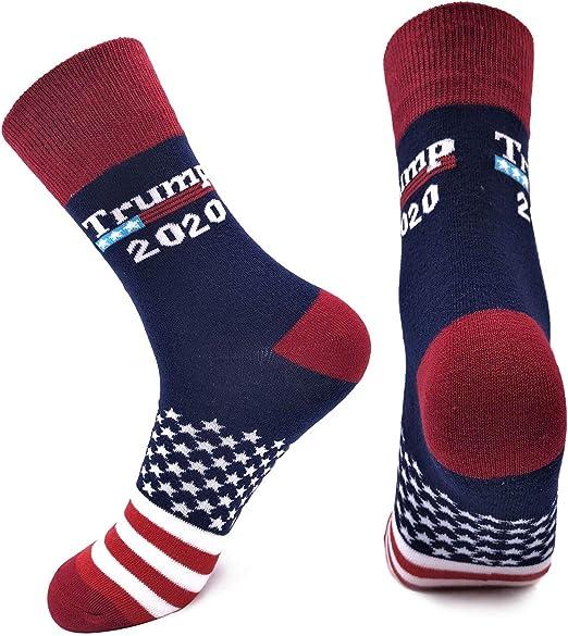 RBXX 2020 Trump Election MAGA Letter Dress Crew Socks