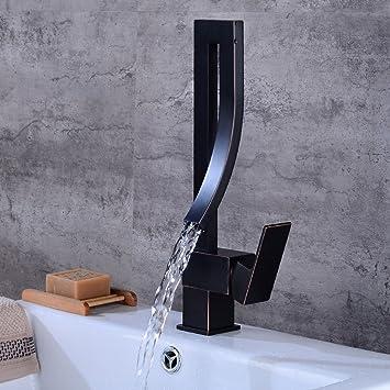 Küche Weranschluss | Bijjaladeva Wasserhahn Bad Wasserfall Mischbatterie Waschbecken
