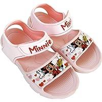 Sandalias Minnie Mouse para Niñas - Sandalias Disney Minnie Mouse con Velcro para Playa o Piscina