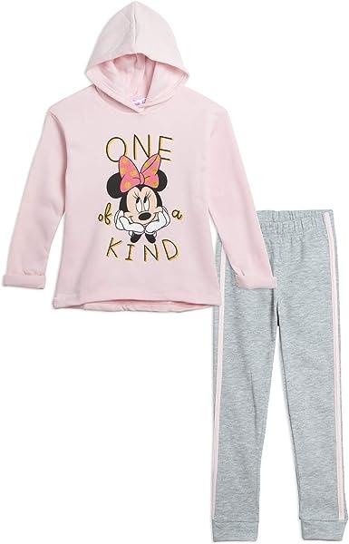 Disney Minnie Mouse Baby Girls Fleece T-Shirt and Leggings Set