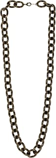 product image for a. v. max Large Hollow Link Fashionable Necklace in Hematite