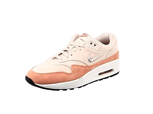 buy online 2c722 be0bf Nike W Air Max 1 Premium SC, Chaussures de Running Compétition Femme,  Multicolore (
