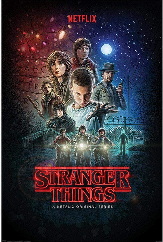 STRANGER THINGS ストレンジャー・シングス (シーズン4配信決定) - One Sheet/ポスター 【公式/オフィシャル】