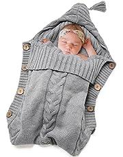 Baby Swaddle Blanket-Truedays Large Swaddle Best Soft Unisex for Boys or Girls (Grey)
