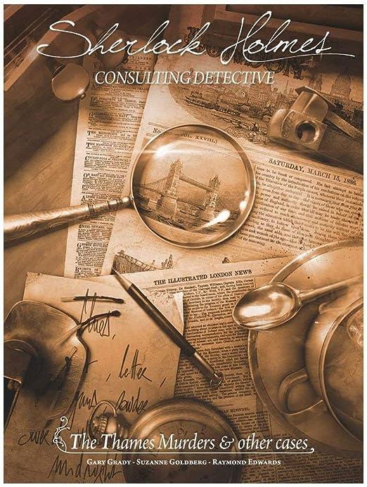 Space Cowboys SHEH03 Juego de mesa del detective privado Sherlock Holmes para resolver asesinatos, importacion ingles: Amazon.es: Juguetes y juegos