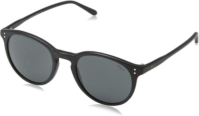 Ralph Lauren POLO 0PH4110 Gafas de sol, Matte Black, 50 para ...
