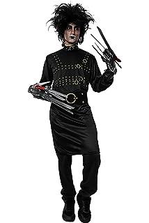 Disfraz de Manostijeras para Hombre Adulto Talla Unica Halloween