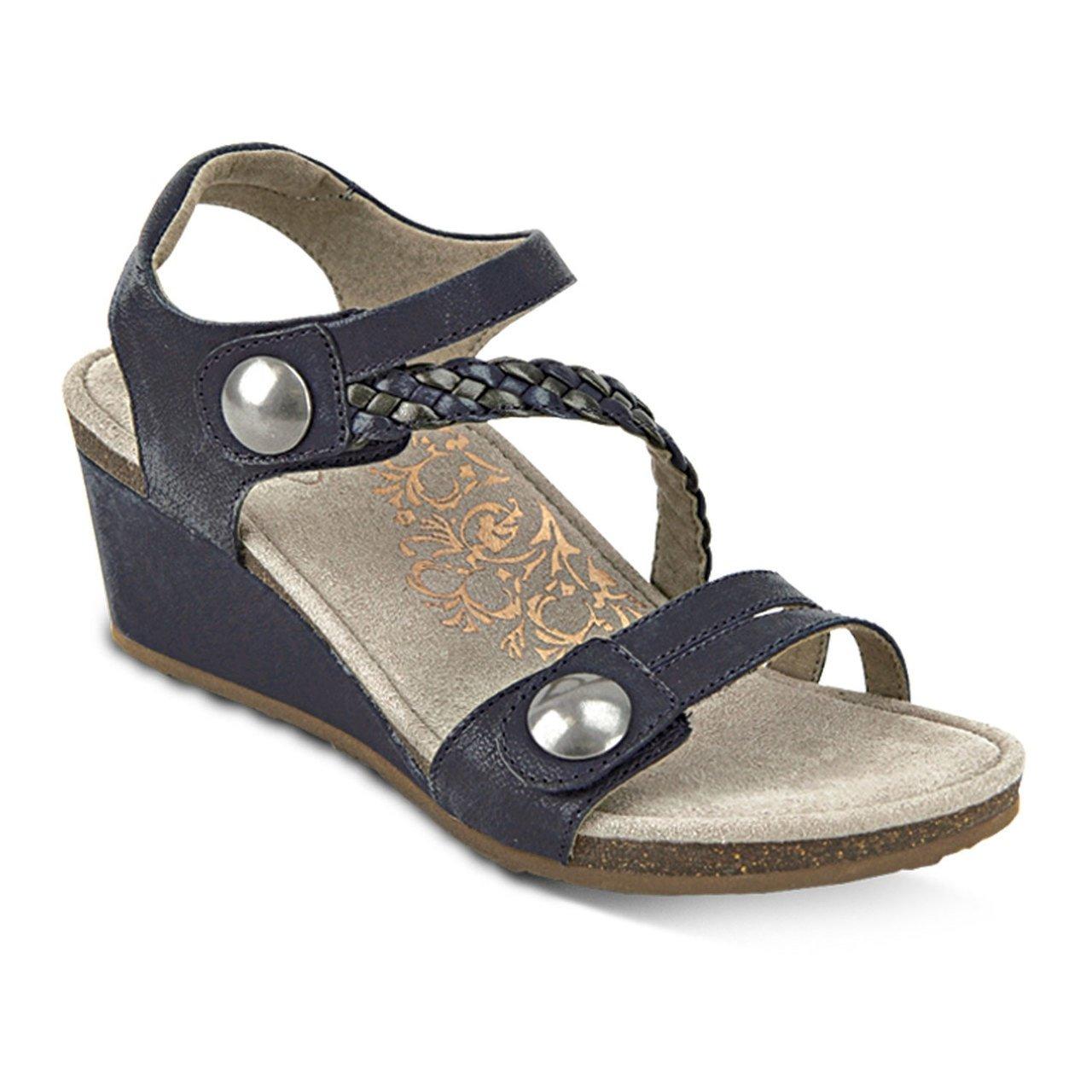 Women's Naya Braid Quarter Strap Wedge Sandal (39) B00N8JJUXI Parent