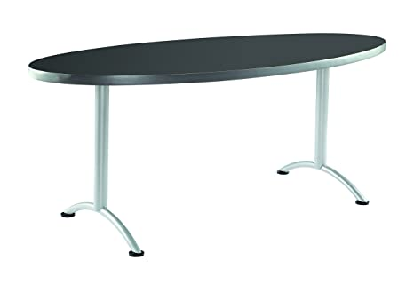 Iceberg ICE ARC Foot Oval Conference Table X - Oval conference table for 6
