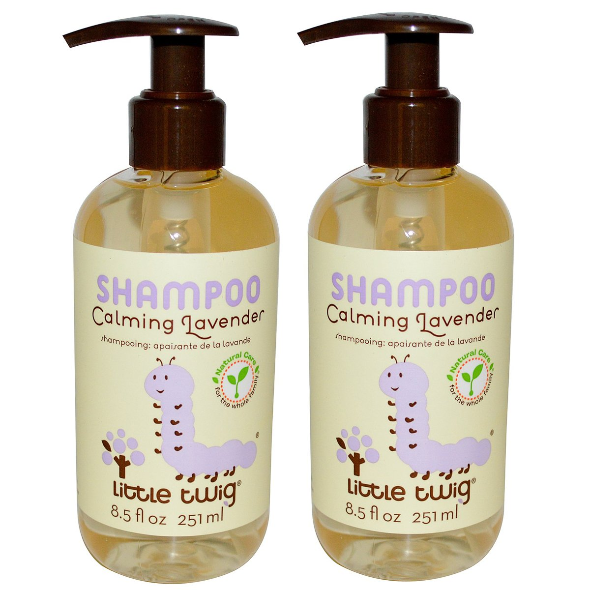 Little Twig Calming Lavender Shampoo with Lavender, Lemon and Tea Tree Oil, 8.5 fl. oz. (Pack of 2) by Little Twig