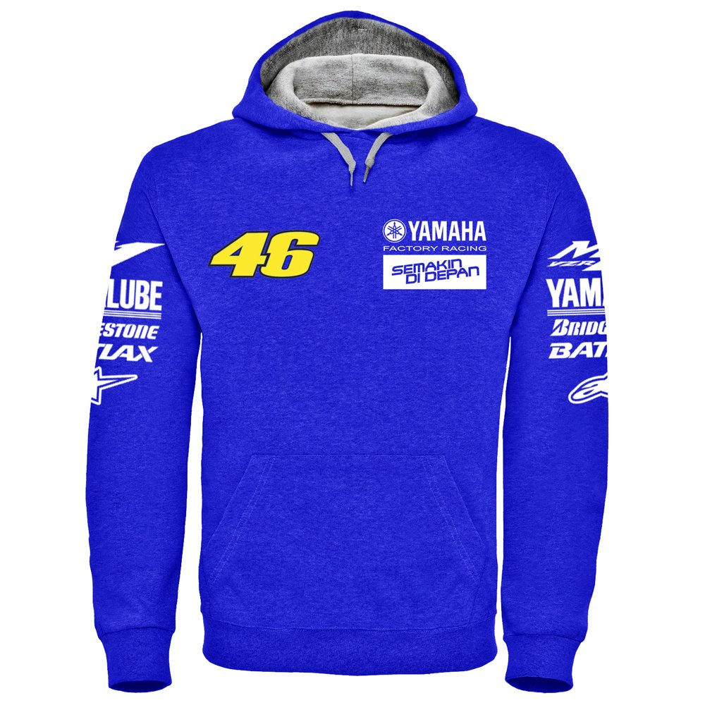 Yamaha Factory Racing Rossi Hoodie - (S - 2XL) (Large)