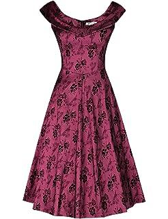 4150b5d5410a Meelanz Women's Fashion Floral Sleeveless Simple Waisted Causal ...