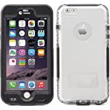 "iProtect Apple iPhone 6, 6s (4,7"") Funda Outdoor protectora impermeable negro"