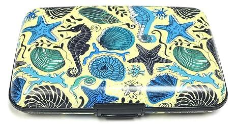 Amazon.com: Caballitos de mar conchas RFID Protección de ...
