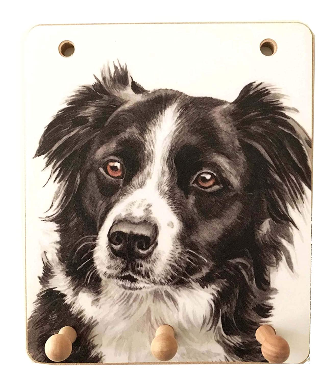 Border Collie Wooden Funny Sign Wall Plaque Gift Present Love is Being Owned By A Border Collie Dog