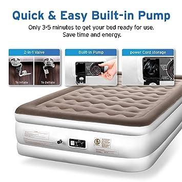 Amazon.com: Etekcity - Colchón hinchable para cama de ...