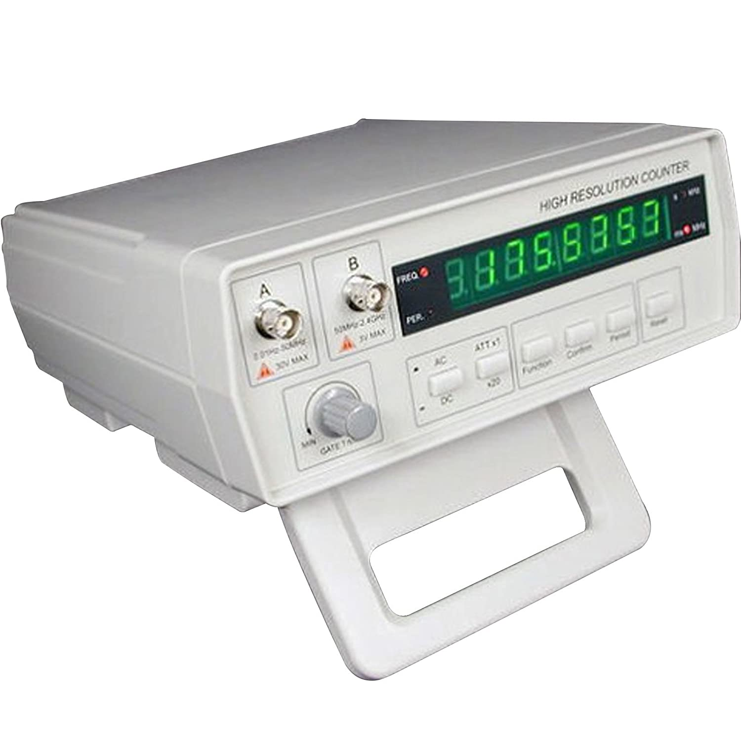 Gain Express Vc3165 Radio Frequency Counter 001hz24ghz W Bnc Test 0 500mhz Pic16f876 Rf Power Meter Leads High Resolution Professional Signal Tester 8 Digits Led Display
