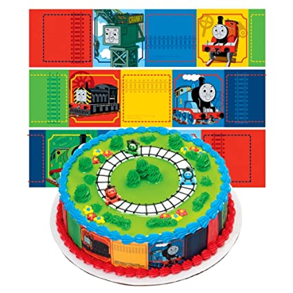 Amazon Thomas The Train Designer Prints Cake Edible Image