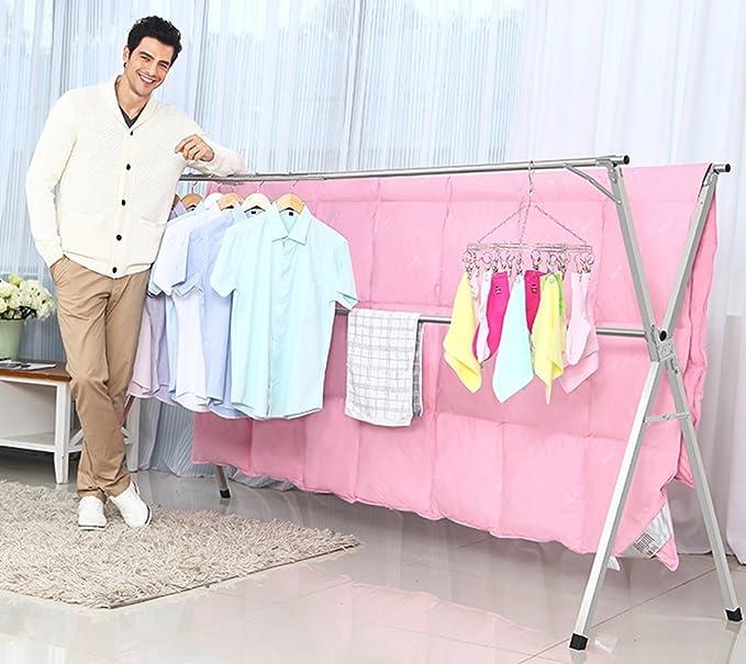 Amazon.com: Tendedero para ropa de acero inoxidable ...