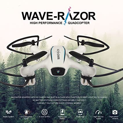 Mobiliarbus Flytec RC Drone H816HW 720P 120 ° Cámara Gran Angular ...