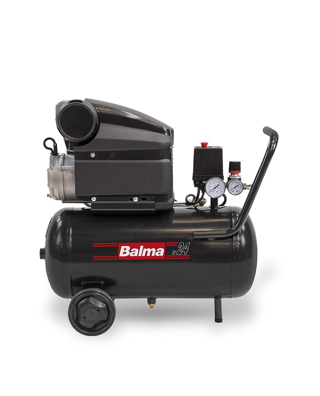 balma Compresor MS20, 24 L, Color, HP, 10 Bar: Amazon.es: Bricolaje y herramientas