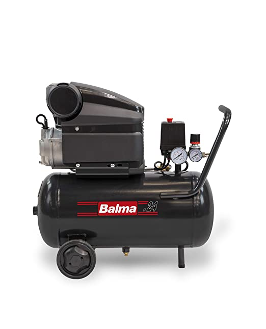 balma Compresor MS20, 24 L, Color, HP, 10 Bar: Amazon.es: Bricolaje y herramientas