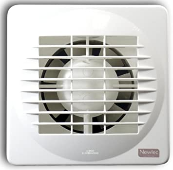 Newlec NL880T Bathroom Axial Extractor Fan with Adjustable Overrun