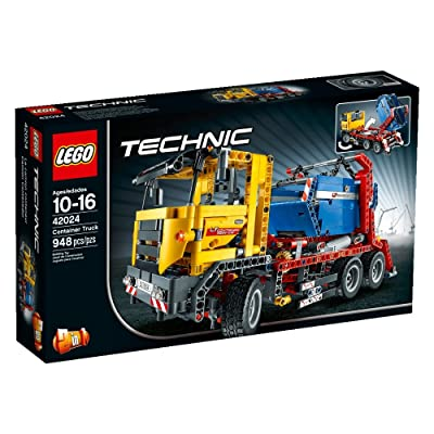 LEGO Technic 42024 Container Truck: Toys & Games