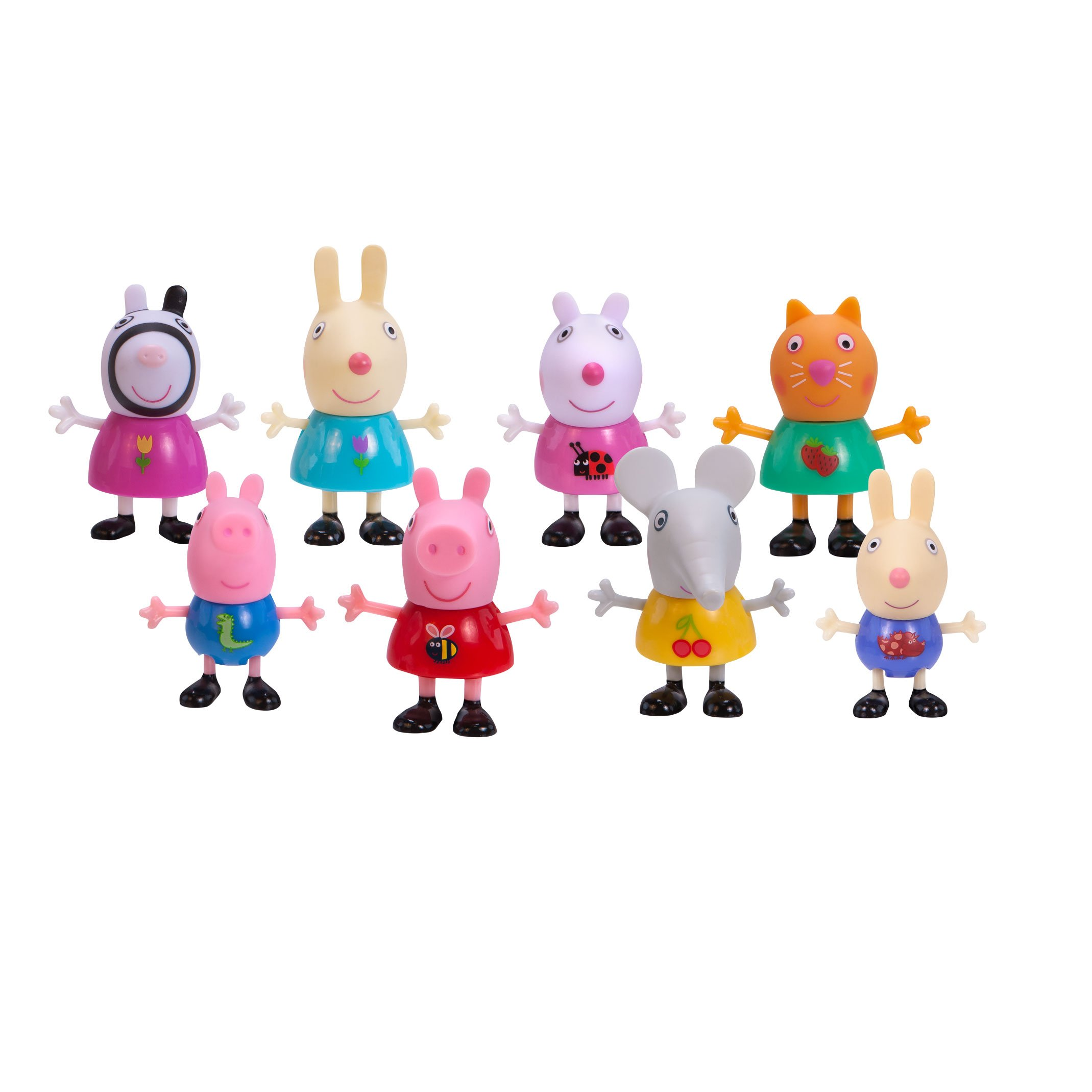 Peppa Pig Forever Friends Figure 8 Pack