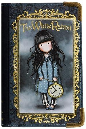 Monedero Gorjuss Chronicles The White Rabbit: Amazon.es: Oficina y papelería