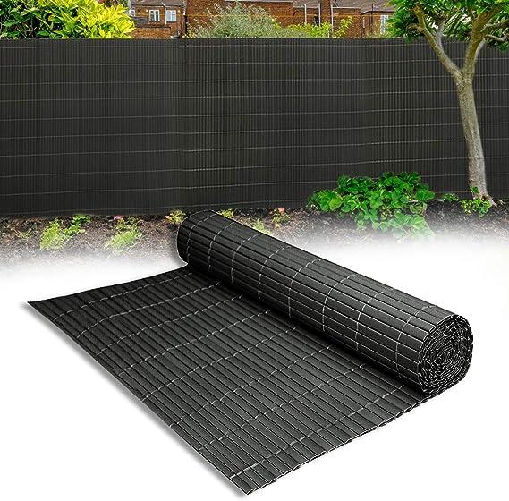Image of Aufun Estera Protectora de PVC, Protección de privacidad de PVC, protección contra el Viento en Jardines, Balcones y terrazas