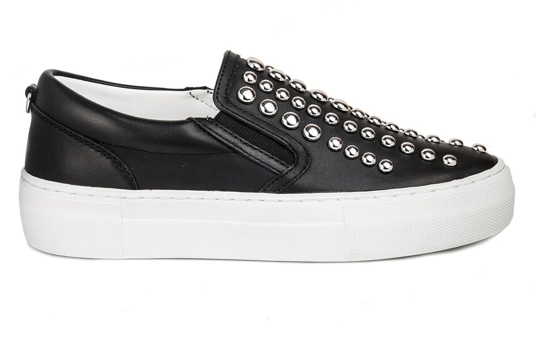 Cult Scarpe Slip On Donna CLE102932 Leather Leather Leather nero PE17 5153d7