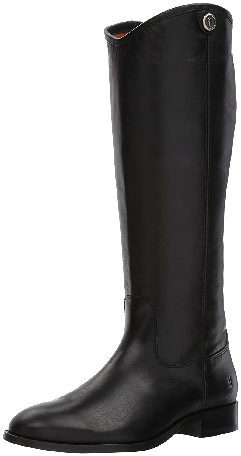 FRYE Women's Melissa Button 2 Riding Boot B06WV6RDKL 10 B(M) US|Black