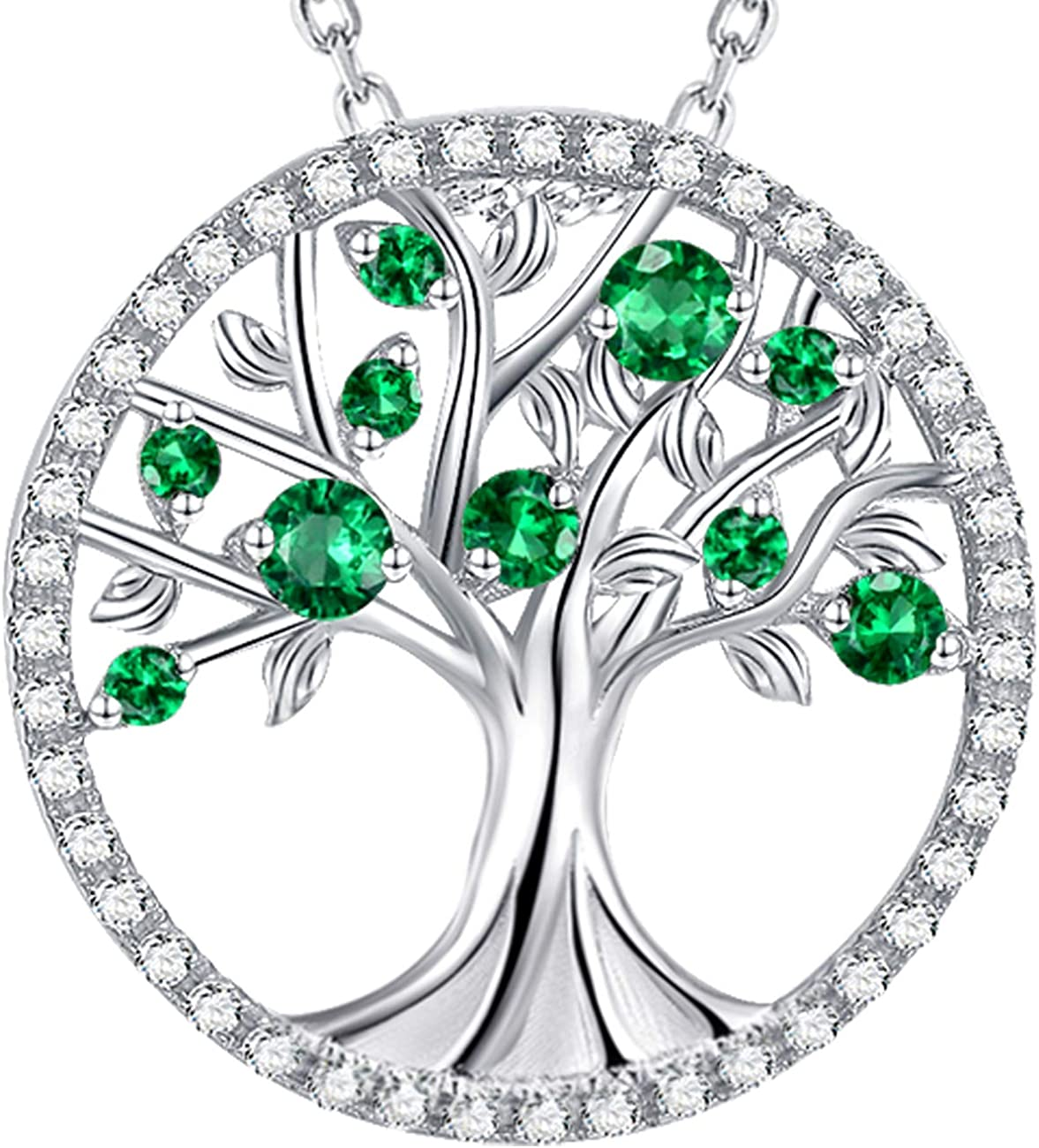 Valentines Day Jewelry Gifts for Wife Fiancee Tree of Life ...