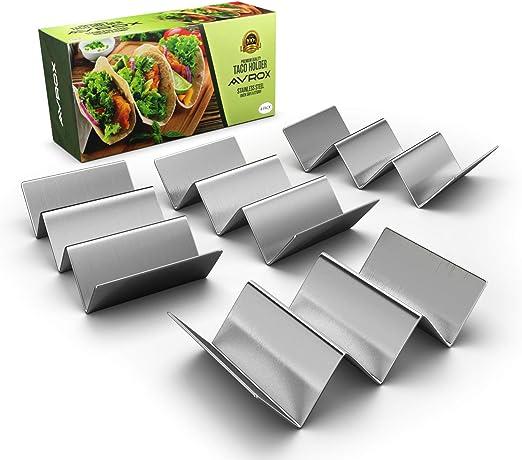 Amazon.com: avrox paquete de 2 – Elegante soporte de acero ...