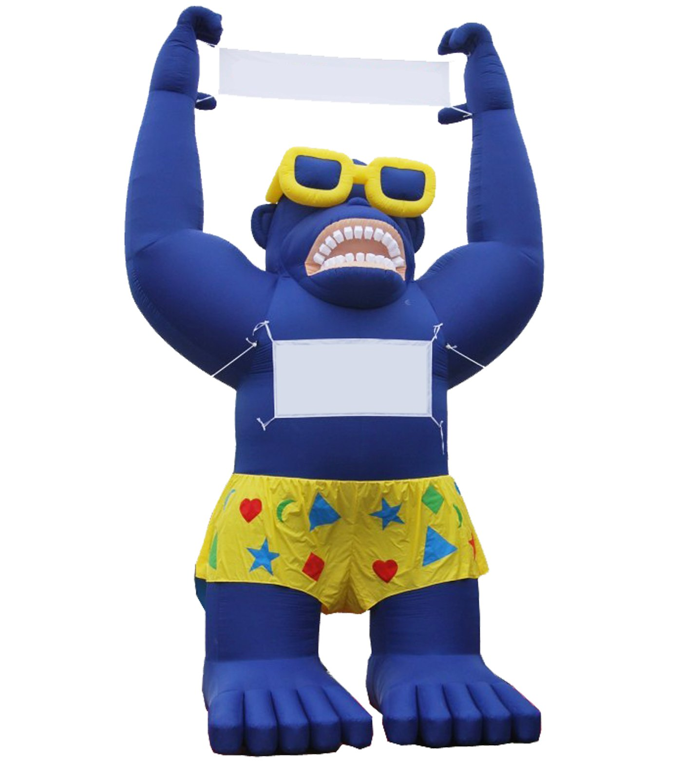LookOurWay Giant Inflatable Advertising 20ft Tall Blue Sale Gorilla by LookOurWay (Image #1)